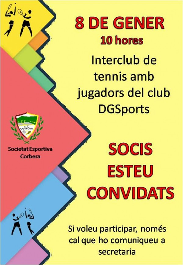 INTERCLUB DE TENIS (8/01/2017)